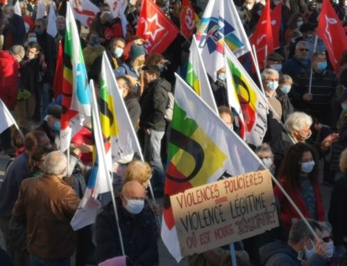 Gros succès le 28 Novembre contre la loi de Sécurité globale